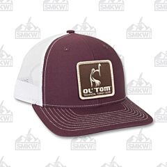 Drake Ol' Tom Mesh Back Patch Cap Maroon