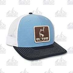 Drake Ol' Tom Mesh Back Patch Cap Navy and White