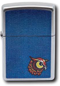 Zippo Denim Owl Lighter