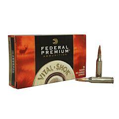 Federal Premium Vital-Shok 260 Remington 120 Grain Nosler Ballistic Tip 20 Rounds
