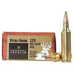 Federal Premium Vital-Shok 270 Winchester Short Magnum 150 Grain Nosler Ballistic Tip 20 Rounds