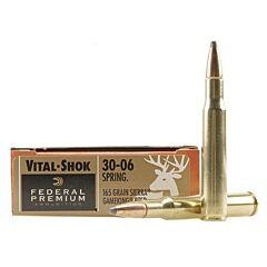 Federal Premium Vital-Shok 30-06 Springfield Sierra Gameking BT Soft Point 20 Rounds