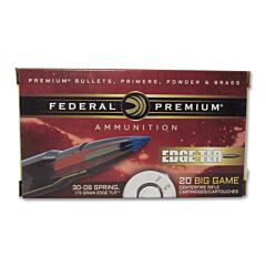 Federal Premium 30-06 Springfield 175 Grain Polymer Tipped 20 Rounds