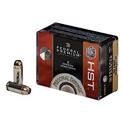 Federal Premium Personal Defense 40 Smith & Wesson 180 Grain Hydra-Shok Jacketed Hollow Point 20 Rounds