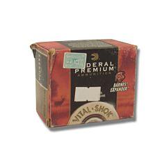 Federal Premium Vital-Shok 480 Ruger 275 Grain Barnes Expander 20 Rounds