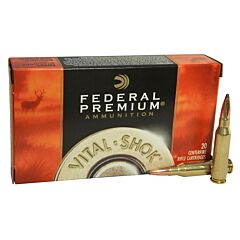 Federal Premium Vital-Shok 7mm-08 Remington 140 Grain Nosler Partition Jacketed Soft Point 20 Rounds