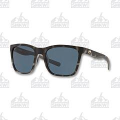 Costa Panga Matte Gray Tortoise Sunglasses