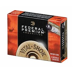 "Federal Vital-Shok Truball 20 Gauge 2.75"" 3/4oz Rifled Slug 5 Rounds"