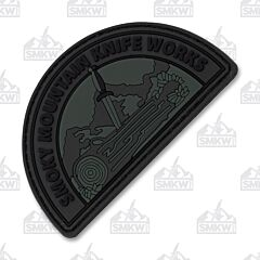 Patch Depot Smoky Mountain Knife Works Black Patch