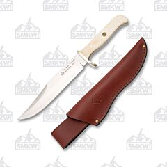 Puma SGB Bowie Smooth White Bone Handle Hunting Knife