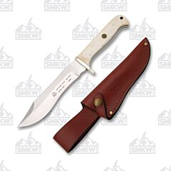 Puma SGB Buffalo Hunter Smooth White Bone Hunting Knife