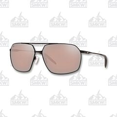Costa Pilothouse Aviator Matte Black Sunglasses