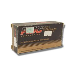 PMC Bronze 38 Super +P 130 Grain Full Metal Jacket 50 Rounds
