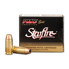 PMC Gold Starfire 40 S&W 180 Grain Jacketed Hollow Point 20 Rounds