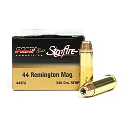 PMC Gold Starfire 44 Magnum 240 Grain Starfire Hollow Point 20 Rounds
