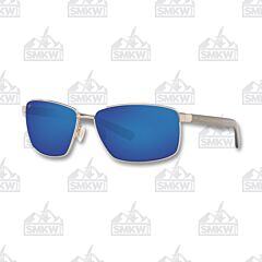 Costa Ponce Silver Sunglasses