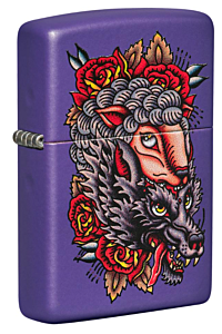 Zippo Wolf in Sheep's Clothing Lighter
