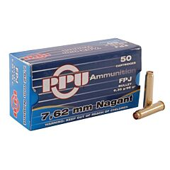 Priv Partizan 7.62 Nagant 98 Grain Full Metal Flat Point 50 Rounds