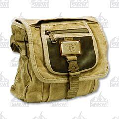 Prairie Schooner Washed Tan Canvas Shoulder Bag