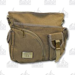 Prairie Schooner Olive Drab Canvas Shoulder Bag