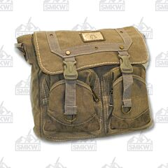Prairie Schooner Tan Canvas Shoulder Bag