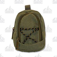 Prairie Schooner Small Green Canvas Belt Bag