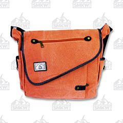 Prairie Schooner Coral Canvas Shoulder Bag