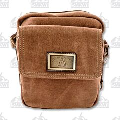 Prairie Schooner Brown Shoulder Bag