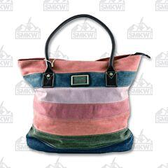 Prairie Schooner Multicolored Canvas Tote Bag