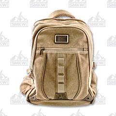 Prairie Schooner Tan Canvas Backpack