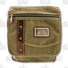Prairie Schooner Small Green Shoulder Bag
