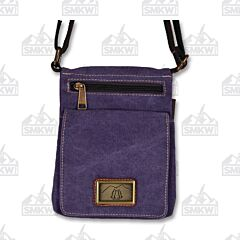 Prairie Schooner Purple Canvas Grab and Go Bag