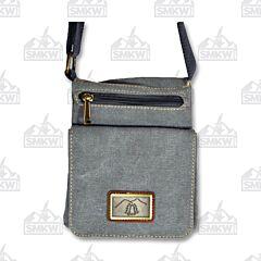 Prairie Schooner Gray Canvas Grab and Go Bag