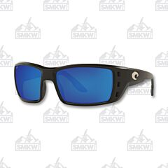 Costa Permit Matte Black Plastic Sunglasses
