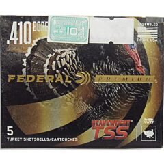 "Federal Premium Heavyweight 410 Bore 3"" #9 Non Toxic Tungsten Super Shot 5 Rounds"