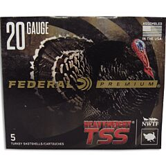 "Federal Heavy Weight TSS 20 Gauge 3"" #7 Tungsten Shot 5 Rounds"