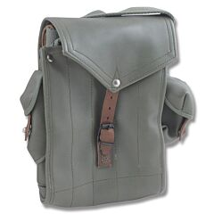 Leather AK-47/AR-15 Magazine Pouch with Grenade Pockets