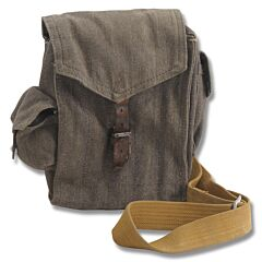 Canvas AK-47/AR-15 Magazine Pouch with Grenade Pockets and Shoulder Strap