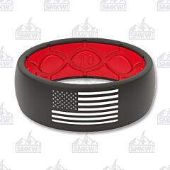 Groove Life American Flag Ring Black
