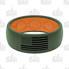 Groove Life American Flag Ring Moss Green