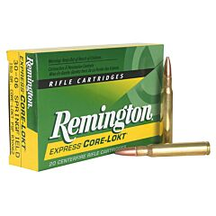 Remington Express 6mm Remington 100 Grain Core-Lokt Pointed Soft Point 20 Rounds