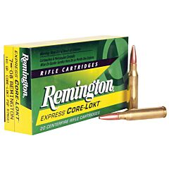 Remington Express 7mm-08 Remington 140 Grain Pointed Soft Point 20 Rounds