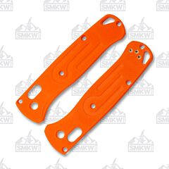 Rogue Bladeworks Benchmade 535 Bugout Orange G-10 Handle Scales Left Hand