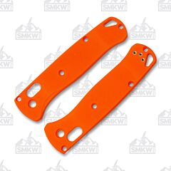 Rogue Bladeworks Benchmade 535 Bugout NHD Classic Orange G-10 Handles