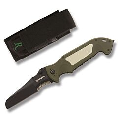 Remington Escape Green Sheepsfoot Linerlock
