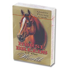 Rivers Edge Playing Cards - Horse Breeds of the World