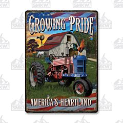 Growing Pride Tin Sign