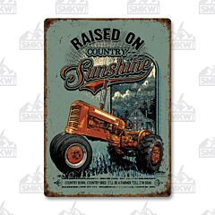 Raised on Country Sunshine Tin Shine