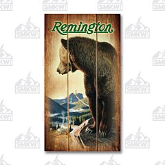 Remington Bear Valley Wood Sign