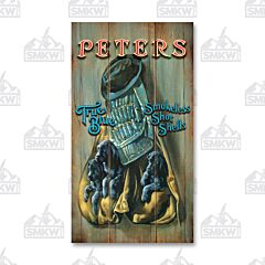 Remington Peters True Blue Wood Sign